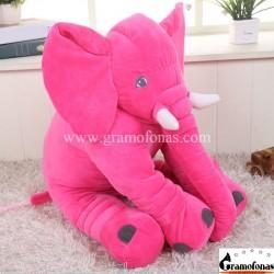 Pliušinis raudonas dramblys 60 cm