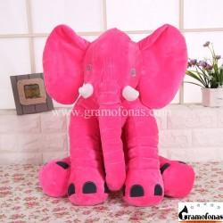 Pliušinis raudonas drambliukas 40 cm
