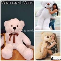 """Baltas (sniego) 140 cm meškinas """"Mr. Martin"""""""