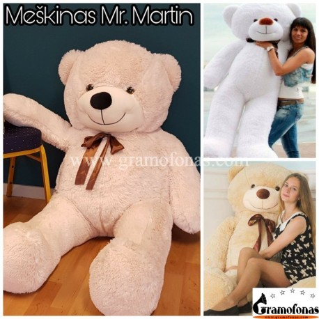 160 cm meškinas Mr. Martin 8 spalvos
