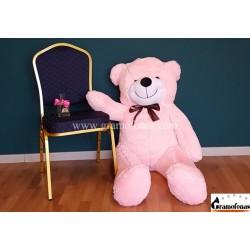 160 cm rožinis meškinas Mr. Martin