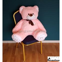 """120 (130) cm rožinis meškinas """"Martin Love You"""""""