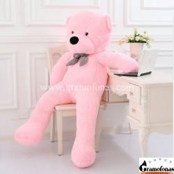 Rožinis meškinas 180 cm TEDDY