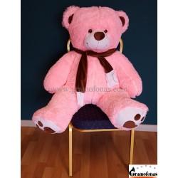 "120 (130) cm rožinis meškinas ""Martin Big Foot"""