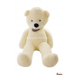 Baltas meškinas 200 cm TEDDY / Dideli pliušiniai meškinai