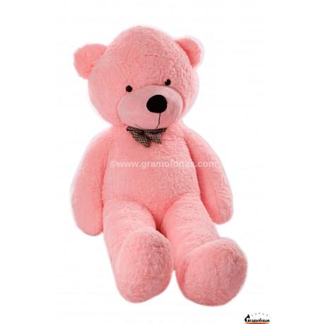 Rožinis meškinas 200 cm TEDDY / Dideli pliušiniai meškinai