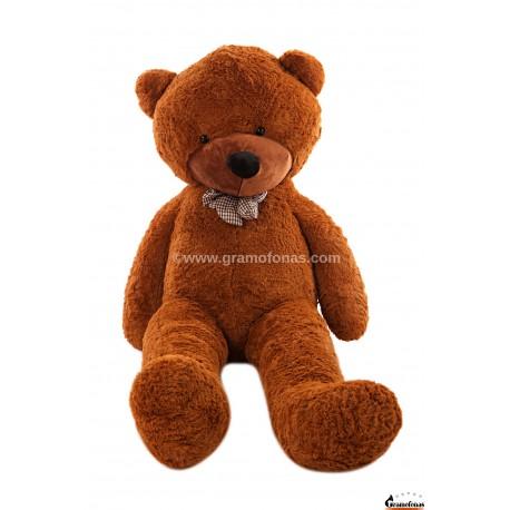 Tamsiai rudas meškinas 200 cm TEDDY / Dideli pliušiniai meškinai