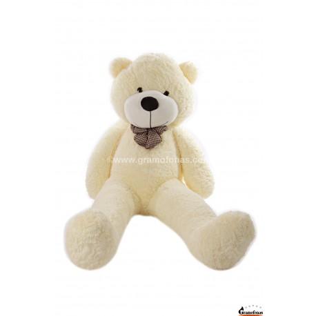 Baltas meškinas 180 cm TEDDY / Dideli pliušiniai meškinai