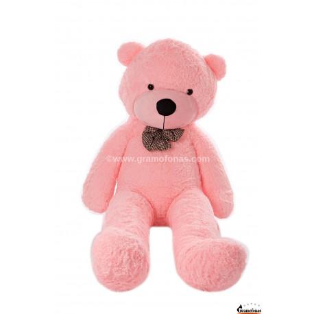 Rožinis meškinas 180 cm TEDDY / Dideli pliušiniai meškinai