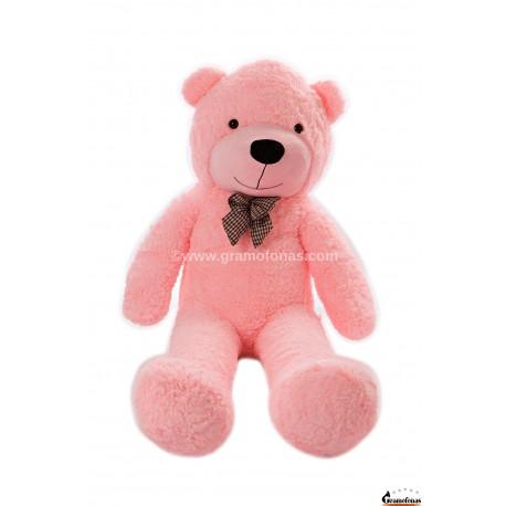 Rožinis meškinas 160 cm TEDDY / Dideli pliušiniai meškinai