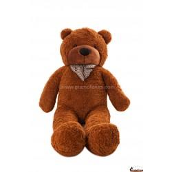 Tamsiai rudas meškinas 160 cm TEDDY / Dideli pliušiniai meškinai