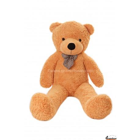 Šviesiai rudas meškinas 140 cm TEDDY / Dideli pliušiniai meškinai