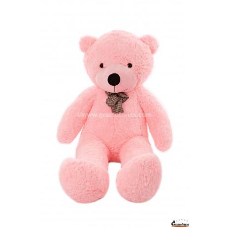 Rožinis meškinas 140 cm TEDDY / Dideli pliušiniai meškinai