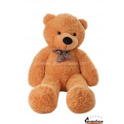 Šviesiai rudas meškinas 120 cm TEDDY / Dideli pliušiniai meškinai