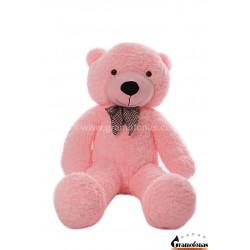 Rožinis meškinas 120 cm TEDDY / Dideli pliušiniai meškinai