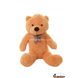Šviesiai rudas meškinas 100 cm TEDDY / Dideli pliušiniai meškinai