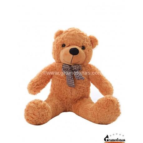 Šviesiai rudas meškinas 80 cm TEDDY / Dideli pliušiniai meškinai