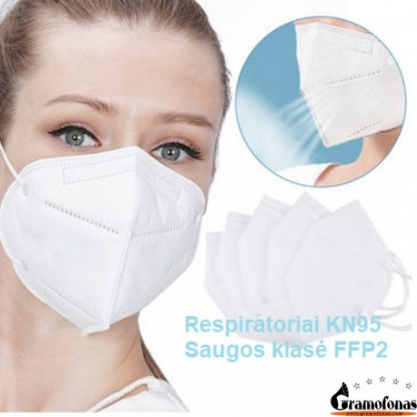 Apsauginė veido kaukė respiratorius KN95 (1 pak./10 vnt.)