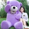 Violetinis meškinas 200 cm TEDDY