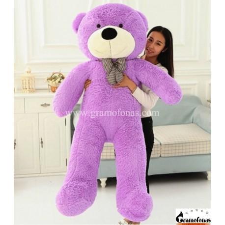 Violetinis meškinas 180 cm TEDDY