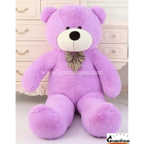 Violetinis meškinas 160 cm TEDDY