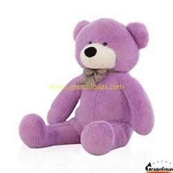 Violetinis meškinas 120 cm TEDDY