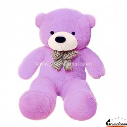 Violetinis meškinas 100 cm TEDDY