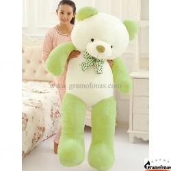 Baltas-žalias meškinas 160 cm HAPPY