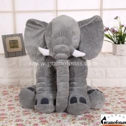Pliušinis pilkas drambliukas 40 cm