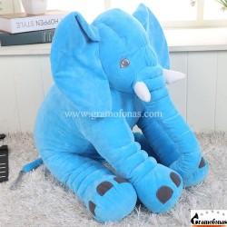 Pliušinis mėlynas dramblys 80 cm